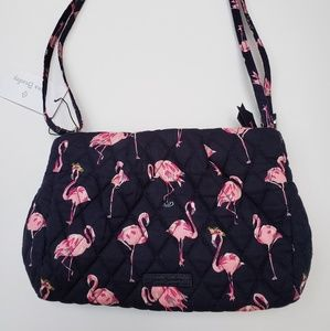 Vera Bradley Flamingo  Fiesta Alex Crossbody